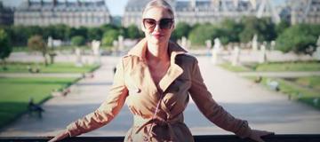 Наталья Окунская отметила 4-ю годовщину жизни в Париже