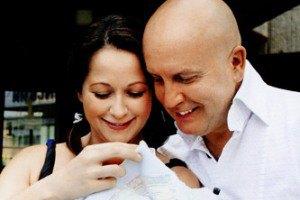 Ольга Кабо показала новорожденного сына