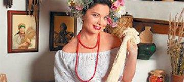 Наташа Королева примерила образ украинской хозяйки