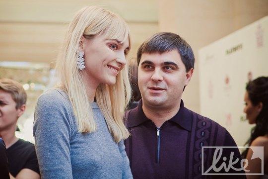 Супермодель Снежана Онопко с супругом Николаем Щуром