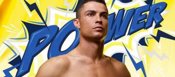 Роналду представил коллекцию нижнего белья в стиле супергероев из комиксов