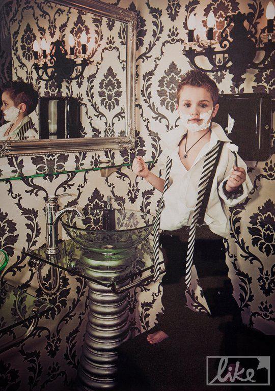 Сын Александра Пономарева - Александр (5 лет)