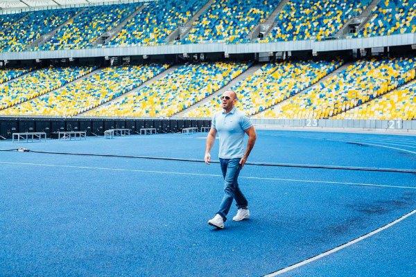 Джейсон Стейтем на Олимпийском