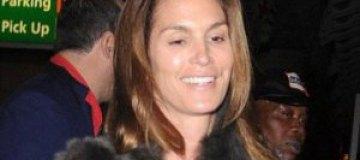45-летняя Синди Кроуфорд показалась без макияжа