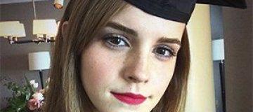Эмма Уотсон наконец закончила университет