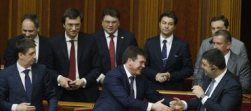 Три министра украинского правительства родились в один день