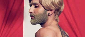 Кончита Вурст стала блондинкой