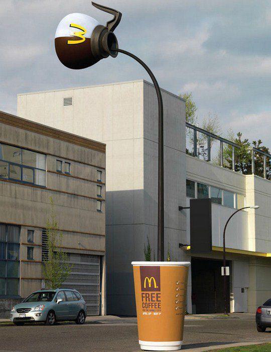 Кофе в McDonald's