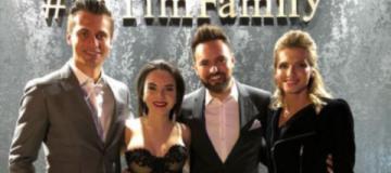 Невеста в необычном платье и коллеги -  как женился ведущий Тимур Мирошниченко
