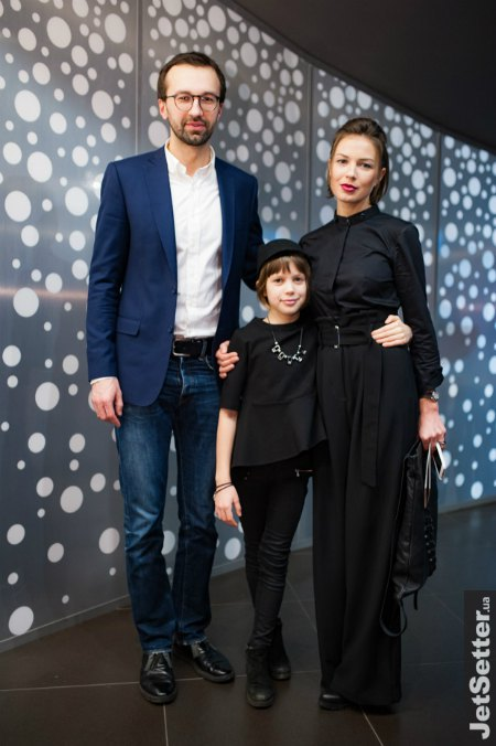Сергей Лещенко с Анастасией Топольской и ее дочкой Ульяной
