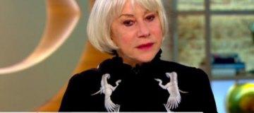Голливудская звезда Хелен Миррен дала интервью в одежде от украинского дизайнера