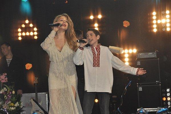 Тина Кароль и Роман Сасанчин