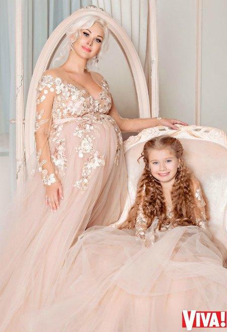 Бужинская с дочкой Аленой