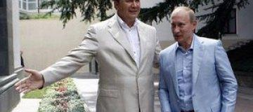 Путин предложил Януковичу покататься на байке