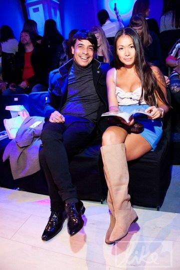 Валид Арфуш с супругой Лидой Петровой