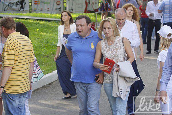 Михаил Фридман с женой