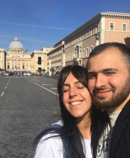 Джа и Бекир в Ватикане: счастливы вместе!