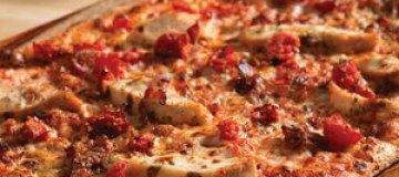 Латвийские студенты испекли двадцатиметровую пиццу