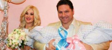 Бужинская рассказала, как назвала новорожденную двойню