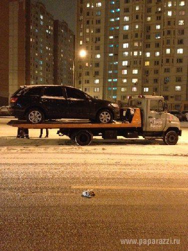Сергей Лазарев попал в ДТП в Москве
