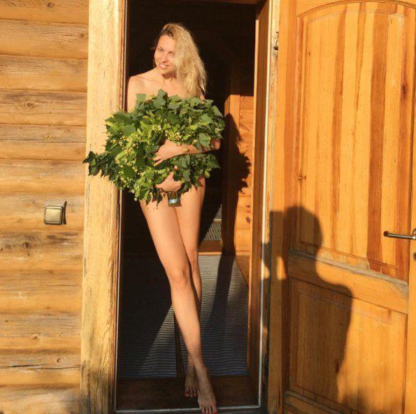 Оля Полякова во всей красе