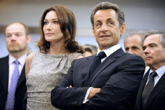 Николя Саркози снова стал отцом