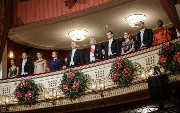 Президентская ложа на Венском балу