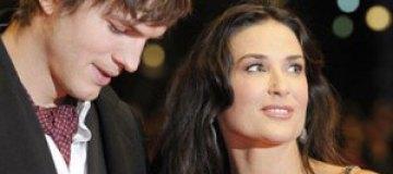Деми Мур и Эштон Катчер приостановили бракоразводный процесс