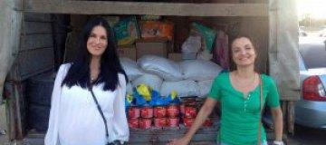 Ефросинина отправила гуманитарную помощь переселенцам с Донбасса