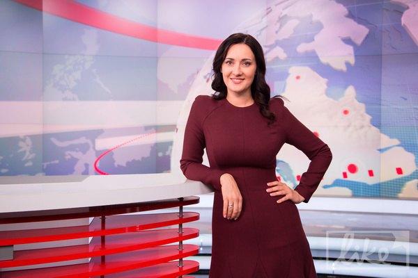Соломія Вітвіцька в студії ТСН