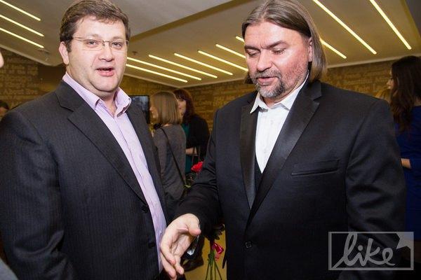 Владимир Арьев и Олесь Санин