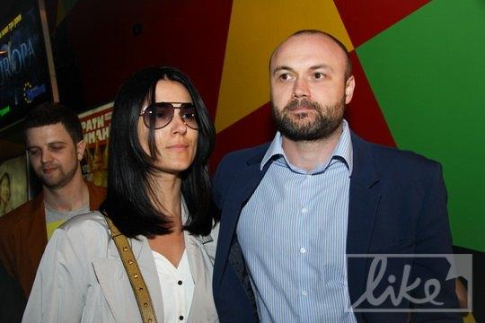 Телеведущая Маша Ефросинина с супругом Тимуром Хромаевым