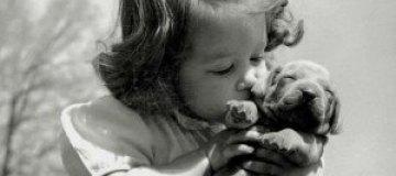 Ретро-фотографии: люди и их собаки