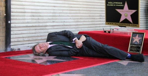 Хью Лори пал перед своей голливудской звездой