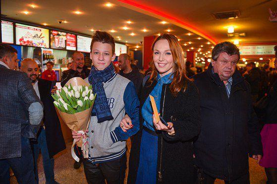 Альбина Джанабаева и Костя Меладзе-младший