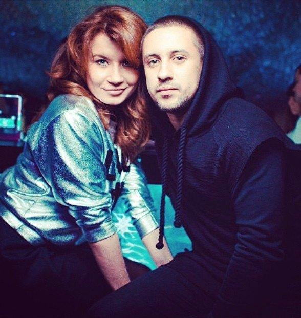 Дима Монатик с женой Ириной Демичевой