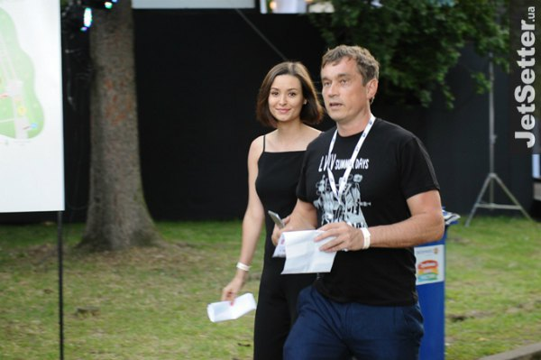 Бизнесмен Василий Хмельницкий с женой Зоей Литвин