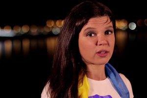 Руслана исполнила рок-версию гимна Украины