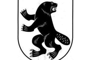 На гербе литовского региона изобразили свирепого бобра