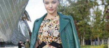 Миранда Керр, Кара Делевинь, Джаред Лето и другие знаменитости на Парижской неделе моды