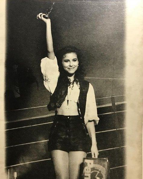 15-летняя Ани Лорак делает первые шаги в шоу-бизнесе
