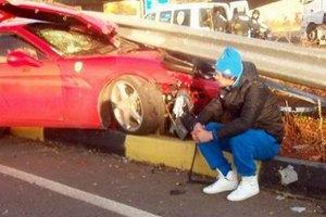 Милевский вдребезги разбил Ferrari в Турции