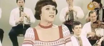 Скончалась известная украинская певица