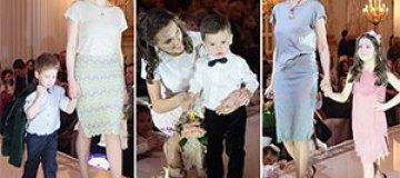 Надежда Мейхер презентовала одежду со стихами, а экс-муж Лободы стал моделью