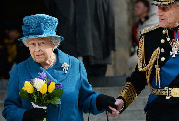 Королева с принцем Филиппом (94 года), в браке с которым она прожила 69 лет