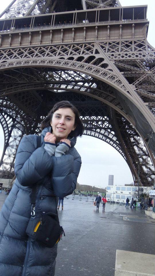 В Париже Джамале не повезло с погодой