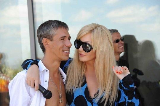 Ирина Билык и Алексей Панин