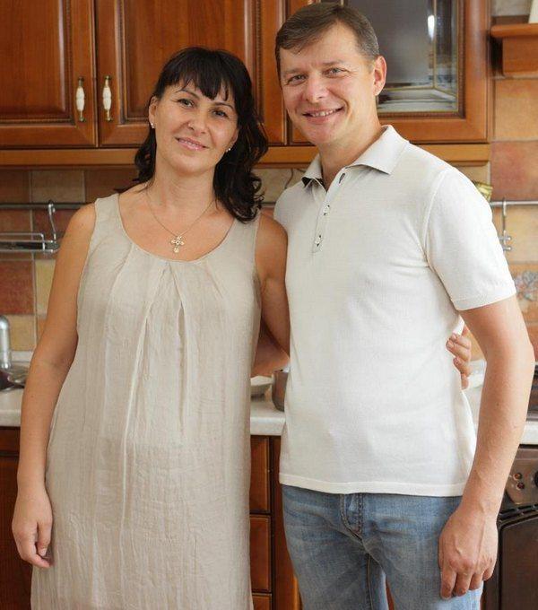 Олег Ляшко с супругой Розитой