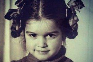 Бородина похвасталась своими детскими фото