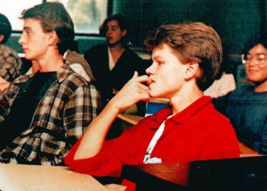 Мэтт Дэймон. 1988 год